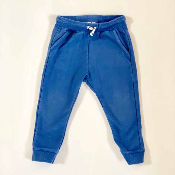 Zara Other - Zara Baby Toddler Boy Blue Joggers